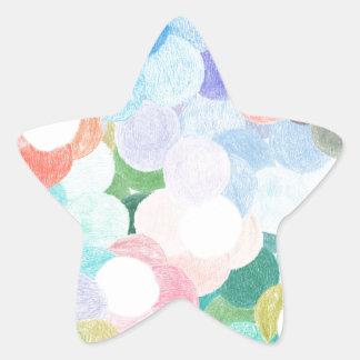 Adesivo Estrela Playfully pitoresco