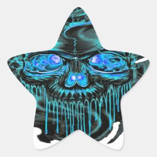 Adesivo Estrela Png dos esqueletos do gelo do inverno