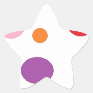 Adesivo Estrela polkadots