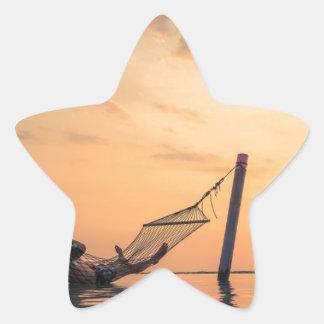 Adesivo Estrela Por do sol de Bali