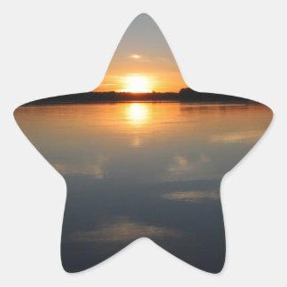 Adesivo Estrela Por do sol de Missouri
