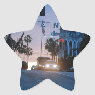 Adesivo Estrela por do sol de Veneza