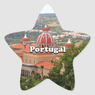 Adesivo Estrela Portugal: Palácio de Monserrate, perto de Sintra