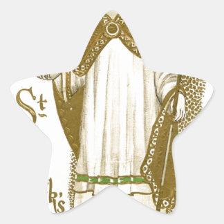 Adesivo Estrela Poster velho bonito de patrick de santo