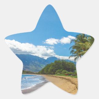 Adesivo Estrela Praia em Havaí