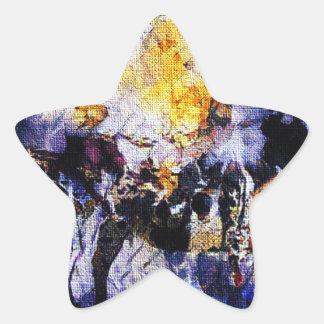 Adesivo Estrela Programa demonstrativo da leiteria