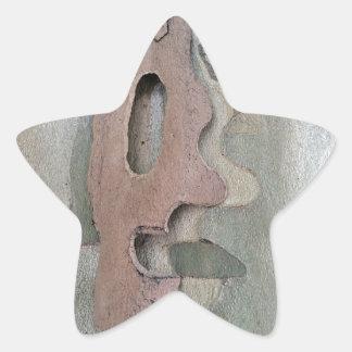 Adesivo Estrela projetado por natureza