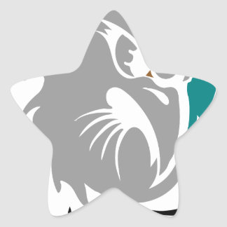 Adesivo Estrela Protetor da protecção de segurança do falcão