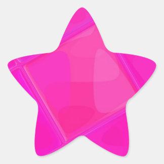 Adesivo Estrela QUADRADO espelhado recreado por Robert S. Lee
