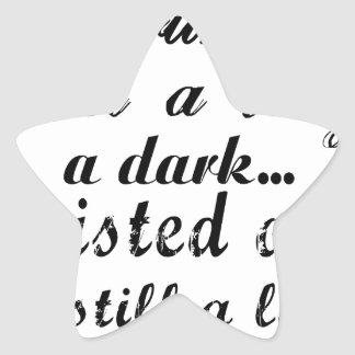 Adesivo Estrela querido eu sou uma senhora um torcida a escura