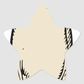 Adesivo Estrela Rabanete