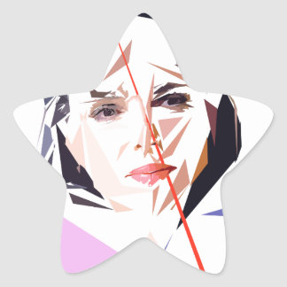 Adesivo Estrela Rachida Dati