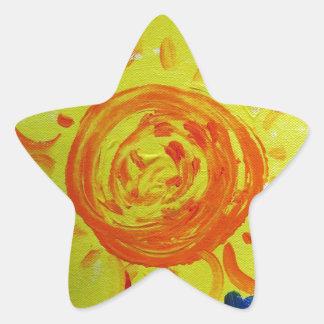 Adesivo Estrela rectifique à natureza
