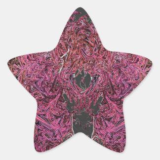 Adesivo Estrela Reflexões do fogo