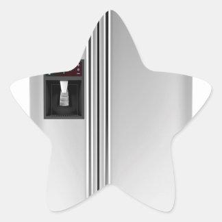 Adesivo Estrela Refrigerador grande