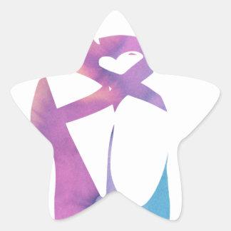 Adesivo Estrela Releve 1