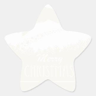 Adesivo Estrela rena