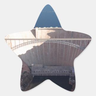 Adesivo Estrela Represa da garganta do vale e ponte, arizona