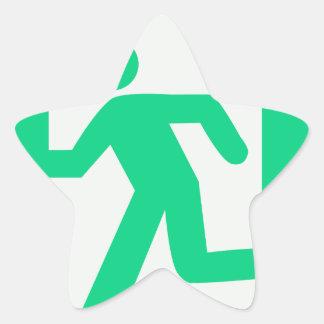 Adesivo Estrela Retire o sinal
