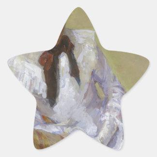 Adesivo Estrela Retrato do artista - Mary Cassatt