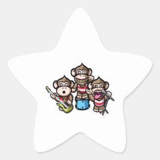 Adesivo Estrela Rocha dos macacos