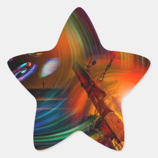 Adesivo Estrela Romance of sailing - Calcular o tempo túneis