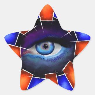 Adesivo Estrela Salvenitus - olho de observação