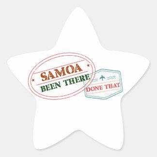 Adesivo Estrela Samoa feito lá isso