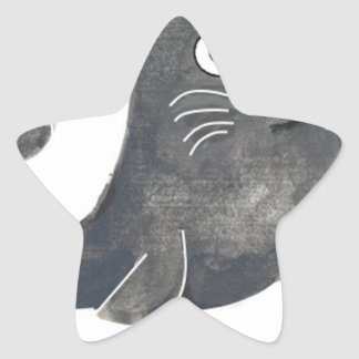 Adesivo Estrela Selo de aprovação