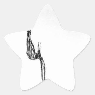 Adesivo Estrela Sentimento puro