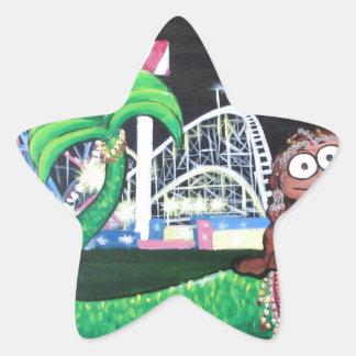 Adesivo Estrela Sereia de Coney Island