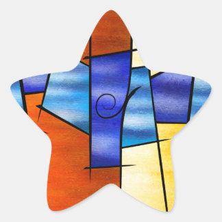 Adesivo Estrela Seria Caloni V1 - o presente
