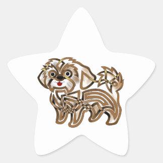 Adesivo Estrela Shi-tzu