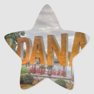 Adesivo Estrela Siglakdanao na cidade do danao