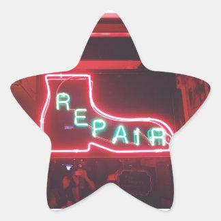Adesivo Estrela Sinal de néon NYC de Repare