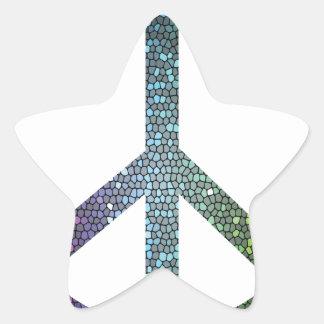 Adesivo Estrela sinal de paz