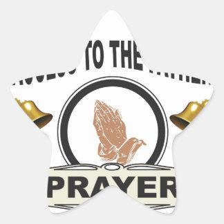 Adesivo Estrela sinos do acesso da oração