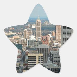 Adesivo Estrela Skyline de Atlanta