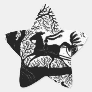 Adesivo Estrela Sleigh_Ride_Silhouette