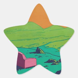 Adesivo Estrela sofá