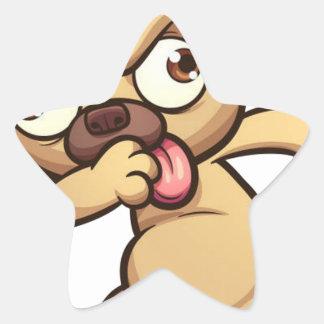Adesivo Estrela solha animal legal