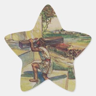 Adesivo Estrela solomontemplemason