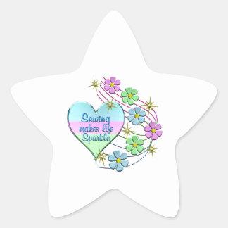 Adesivo Estrela Sparkles Sewing