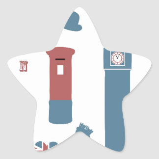 Adesivo Estrela Special de Londres