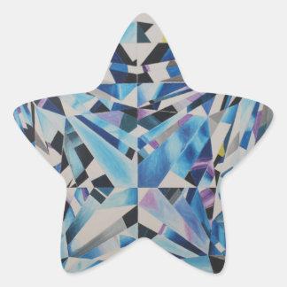 Adesivo Estrela Star as etiquetas, lustroso, pequenas, 1 polegada