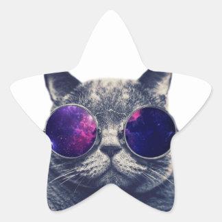 Adesivo Estrela Star etiquetas, resíduo metálico, pequeno, 1