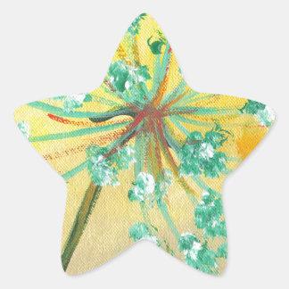 Adesivo Estrela starburst
