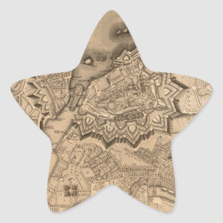 Adesivo Estrela Suiça 1773 de Genebra
