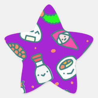 Adesivo Estrela Sushi Moki