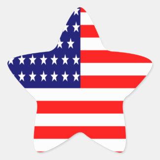 Adesivo Estrela T-shirt das nações